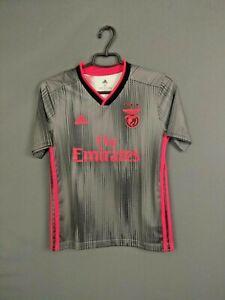 Benfica Jersey 2019/20 Away Kids Boys 11-12 y Shirt Camiseta Adidas DW6724 ig93