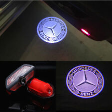 2Pcs LED 3D Logo door welcome Projector light For Mercedes benz S Class S550