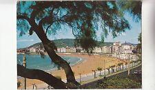 BF29228 san sebastian paseo y playa de la concha  spain   front/back image