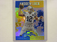 2014 Panini Rookie & Stars Crusade Blue & Gold Andrew Luck Colts Card 15