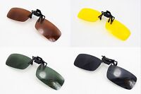 Flip Up Clip On Sun Glasses Sunglasses fir Driving Car Holiday Fishing Polarized