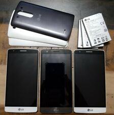 3 Lot Lg G3 Beat D722P 8Gb Gsm 4G Lte Cellphone Bar Locked Movistar Black & W
