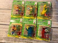 "Sesame Street Figure 2.5"" Big Bird Zoe Cookie Monster New NIP Bert Ernie Elmo"
