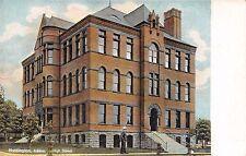 HUNTINGTON INDIANA HIGH SCHOOL POSTCARD 1910s