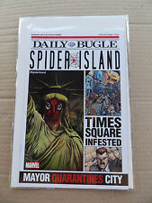 Spider-Man : Spider  Island / Daily Buggle Free Comic . Marvel 2011 . NM - minus