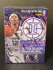 2019-20 Panini Illusions Basketball NBA Blaster Sealed Box Zion Williamson