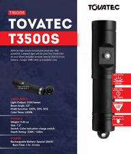 TOVATEC 3500 SPOT Scuba diving Rechargeable Torch 3500 Lumens
