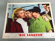 Big Leaguer 1953 MGM  lobby card Vera-Ellen Edward G. Robinson