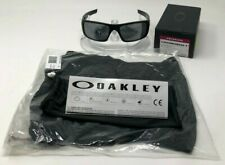 New Oakley Crankshaft POLARIZED OO9239-06 Matte Black W/Black Iridium+balaclava.