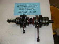 07 2007 SKIDOO 600 HO REV mxz SDI CORE FOR PARTS crank shaft crankshaft 06