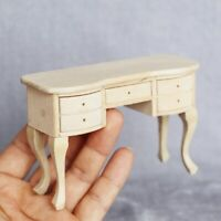 1/12 Dollhouse Mini 5-drawer Table Desk Furniture Model Study Scene DIY Decor