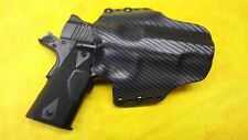HOLSTER BLACK CARBON KYDEX KIMBER CUSTOM CRIMSON CARRY II OWB Outside Waistband