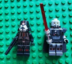 Lego Star Wars Minifigures Lot Darth Malgus Sith Trooper