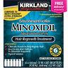Kirkland Minoxidil 5% Men Hair Regrowth - 6 Months