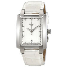 Tissot T-Trend TXL White Dial White Leather Ladies Watch T0613101603100