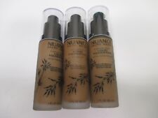 3 NUANCE FLAWLESS FINISH FOUNDATION 1oz EACH #290 DEEP WARM AA 10145
