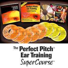 PERFECT PITCH EAR TRAINING SUPERCOURSE - Absolute NEW!