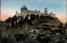 Sintra Portugal Color Postkarte ~1950/60 Blick auf  Palacio da Pena ungelaufen