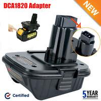 For Dewalt DCA1820 20V MAX To 18V Adapter Converter For Dewalt Lithium Battery