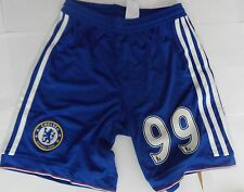 CHELSEA 2015/16 HOME SHORTS NO.99 BY ADIDAS  SIZE 11-12 YEARS BRAND NEW
