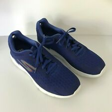 SKECHERS Mens Blue Goga Run Gen5 Air Cooled Goga Mat US 12  UK Size 11