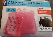 TCM Taschenwärmer Handwärmer Wärmekissen Taschen Heizkissen Set NEU
