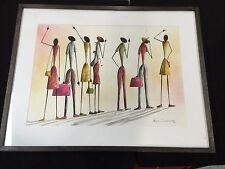 Bon Chandiyamba Signed Painting Framed
