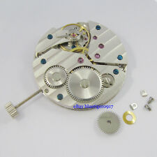 Parnis 17 Jewels Seagull 6497 Hand Winding Men's Vintage Classic Watch Movement