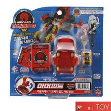Turning Mecard W ARMORPIT Red ver. Armor Pit Transformer Korean Robot Car Toy
