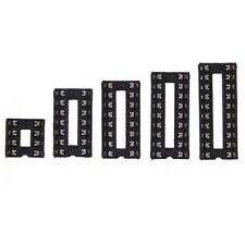 174 Stück IC-Sockel Set Sortiment DIL 8pol, 14pol, 16pol, 18pol, 20pol