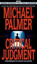 CRITICAL JUDGEMENT By Michael Palmer (1996, Cassette, Abridged)   (2419)