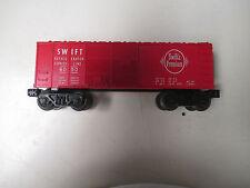 LIONEL TRAIN SWIFT REFRIGERATOR BOX CAR SWIFT'S PREMIUM MEATS 6050