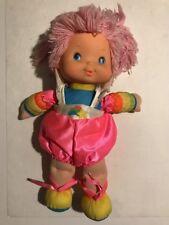 Vintage 1983 Hallmark Rainbow Brite TICKLED PINK BABY BRITE Baby Doll Plush Toy