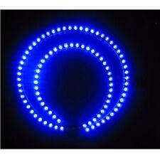 2pcs Blue 24cm 24leds Super Bright Audi Style LED Flexible Strip Light 12V B25
