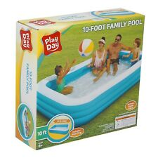 "New ListingPlay Day Kb0530000138 120""x72""x22"" Rectangular Inflatable Family Pool"