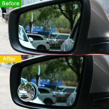 1 × Car Auto 360° Blind Spot Side Mirror Stick On Glass Adjustable Safety Lens
