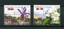 Portugal 2016 MNH Flowers Joint Issue JIS Phillipines 2v Set Plants Stamps