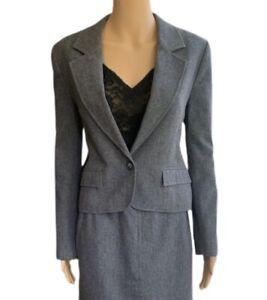 Pendleton Skirt Suit 70s Vintage Blazer High Waisted Pencil Skirt - Size Small