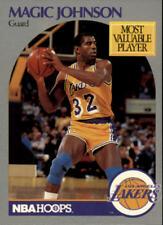 Magic Johnson #157 Hoops 1990/91 NBA Basketball Card