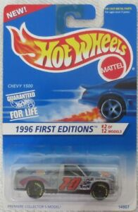 HOT WHEELS   FROM 1996 FIRST EDITIONS # 2 /12  CHEVY  1500