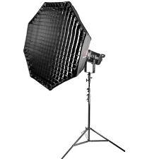 Bi-Colour Continuous Studio Light with 90CM Umbrella Softbox & Stand 100W MKIII