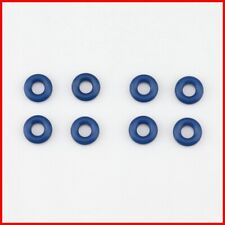 8 Pcs Fuel Injector Rubber Seal O-Ring 13641437474 Fits BMW E39 E52 M3 M5 Z8 E46
