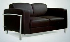Leder Designer Lounge Couch Office Couchgarnitur 1 und 2 er Verona Leather