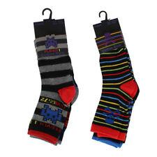 Chaussettes multicolore en polyester pour garçon de 2 à 16 ans