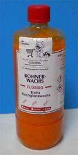 Hartglanzwachs 1 Flasche 1000 ml. gelb, Bohnerwachs flüssig