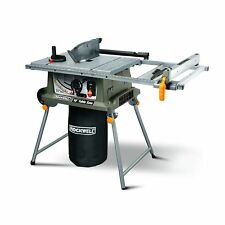 Rockwell Rk7241s Table Saw With Laser 15 Amp 10