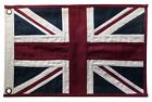 United Kingdom UK Union Jack Fully Sewn Vintage-Look Flag 49cm x 33cm