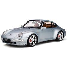 GT Spirit 1998 PORSCHE 911 / 993 CARRERA 4S Polar Silver 1/12 Scale LE500 New!