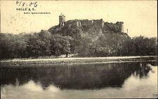 Halle Sachsen-Anhalt 1906 Burg Giebichenstein Kunsthochschule Fluß Saale Schule