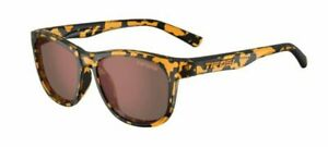NEW Tifosi SWANKA Sunglasses YELLOW CONFETTI BROWN POLARIZED LENS 1500506950